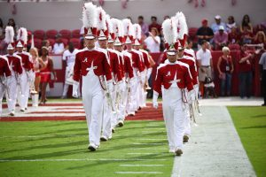 Million Dollar Band pregame tunnel
